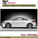 Audi TT Repair Service Factory Manual 1999 2000 2003 2004 2005