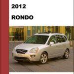 Kia Rondo 2012 Workshop Service Repair Manual – Mechanical Specifications