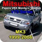 Mitsubishi Montero Pajero Shogun (1999-2006) V6 Workshop Service Repair Manual