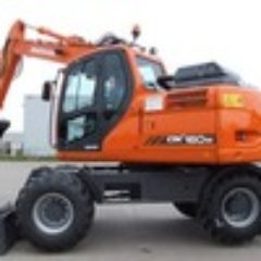 Daewoo Doosan Dx140w Dx160w Excavator Operation Service Maintenance Manual