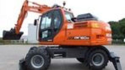 Daewoo Doosan Dx140w Dx160w Excavator Operation Service Maintenance Manual