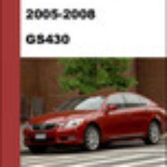 Lexus Gs430 2005-2008 Workshop Service Repair Manual Pdf