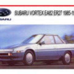 1985-1991 Subaru Vortex EA82 ER27 Workshop Full Service Repair Manual