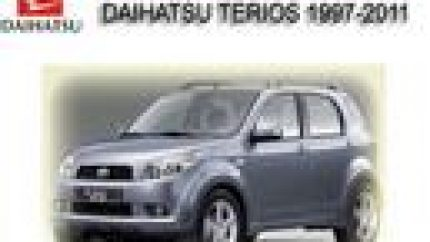 Daihatsu Terios 1997-2011 Workshop Repair Service Manual
