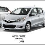 Toyota Yaris 2010-2014 Workshop Service Repair Manual