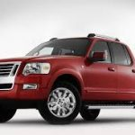 Ford Explorer Sport Track 2007 2008 Workshop Manual